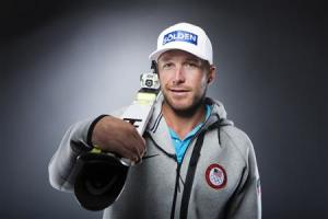 Olympic alpine skier Bode Miller poses for a portrait during the 2013 U.S. Olympic Team Media Summit in Park City, Utah