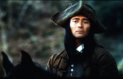 Mark Dacascos as Mani in Universal Focus' Brotherhood of the Wolf (Le Pacte Des Loups)