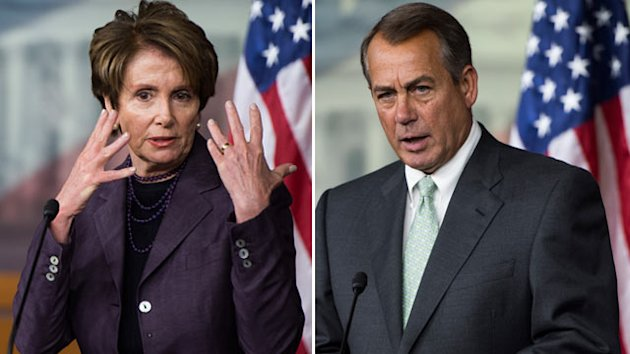 Boehner, Pelosi Hint at Next Showdowns in Congress (ABC News)