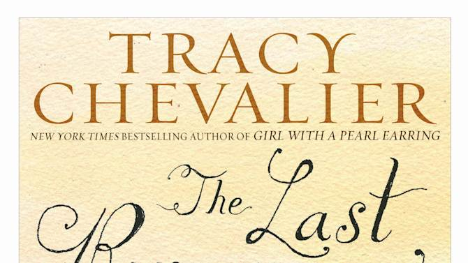 """This book cover image released by Dutton shows """"The Last Runaway,"""" by Tracy Chevalier. (AP Photo/Dutton)"""