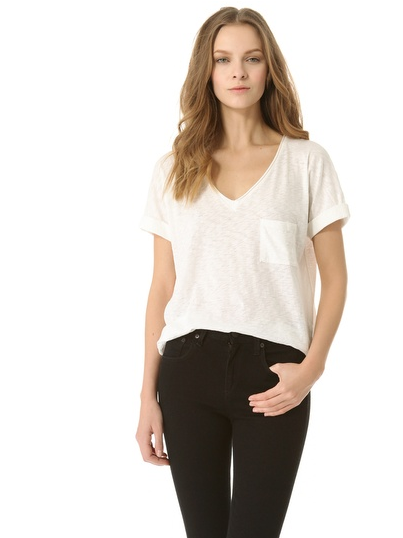 Rag &amp; Bone The V Pocket Tee