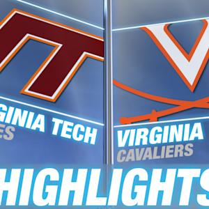 Virginia Tech vs Virginia | 2014-15 ACC Men's Basketball Highlights