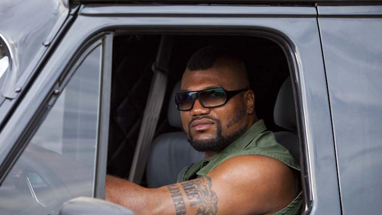 Qunton 'Rampage' Jackson The A-Team Production Stills 20th Century Fox 2010