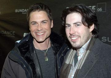 Rob Lowe and director Jason Reitman Thank You for Smoking Premiere - 1/21/2006 2006 Sundance Film Festival