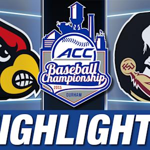 Louisville vs Florida State | 2015 ACC Baseball Championship Highlights