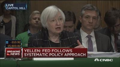 Yellen: Negative rates not 'off the table'
