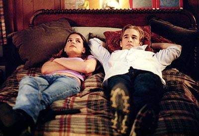 Katie Holmes and James Van Der Beek WB's Dawson's Creek