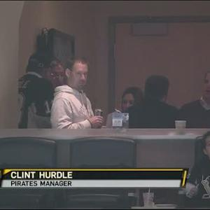 Clint Hurdle at Penguins game