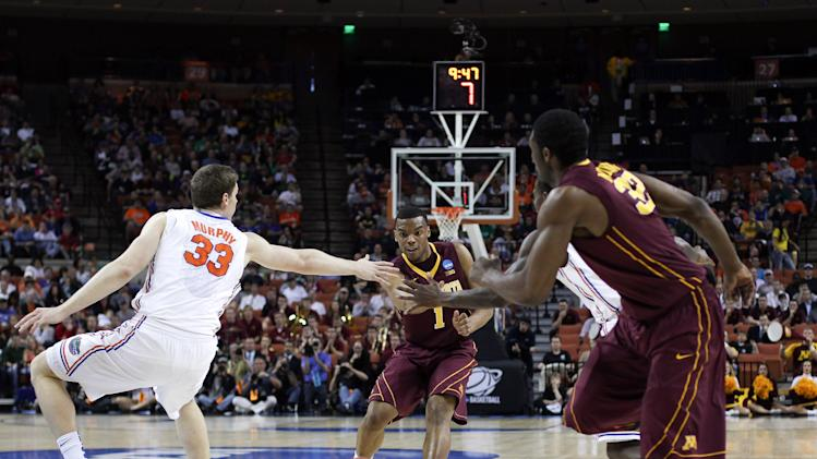 NCAA Basketball: NCAA Tournament-Minnesota vs Florida