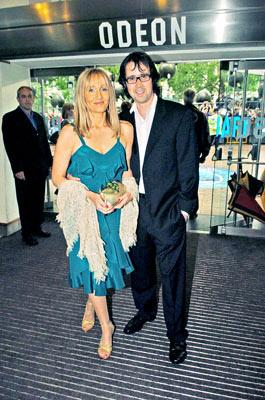 J.K. Rowling and husband Neil Murray at the London premiere of Warner Brothers' Harry Potter and the Prisoner of Azkaban