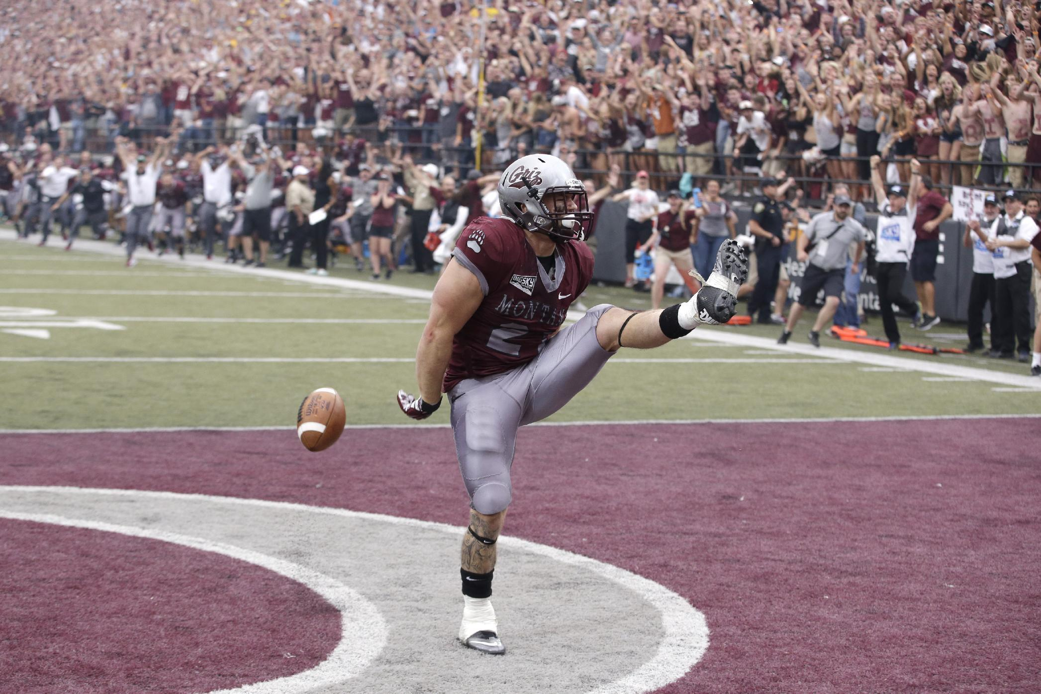 Montana stuns North Dakota State 38-35 on late TD