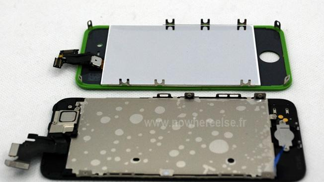 iPhone 5 front assembly compared to iPhone 4S in stunning high-quality photos and video
