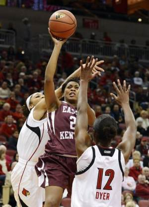 Schimmel sisters lead No. 7 Louisville past EKU