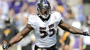 Ravens activate Suggs, cut Kindle