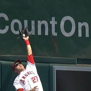 Trout's snag robs Martin