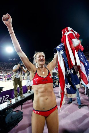 > Kerri Walsh Jennings was five weeks pregnant during her Olympic gold-medal run - Photo posted in BX SportsCenter | Sign in and leave a comment below!