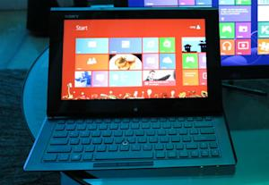 Sony Vaio Duo 11 Is One Strange Windows 8 Hybrid [HANDS ON]