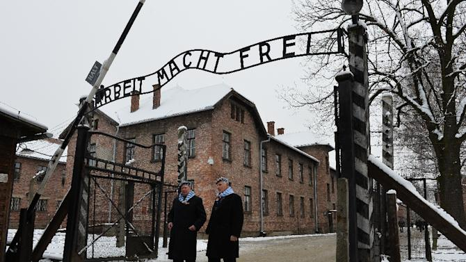 Survivors revisit Auschwitz on the 70th anniversary of the concentration camp's liberation in January 2015