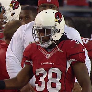 Arizona Cardinals running back Andre Ellington 6-yard touchdown