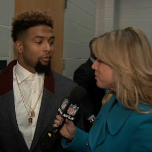 New York Giants wide receiver Odell Beckham: Definitely the best catch I've made in a game