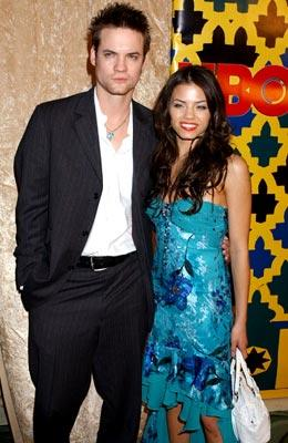Shane West and Jenna Dewan HBO Post Award Reception Griff's Restaurant - Beverly Hills, CA - 1/16/05