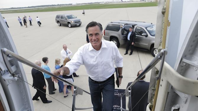 Romney shifts message to challenge status quo