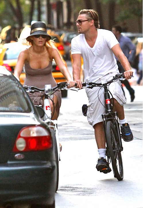 Lively Dicaprio Bike RidingNY