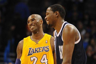 Kevin Durant rejects theory no one wants to play with Kobe Bryant