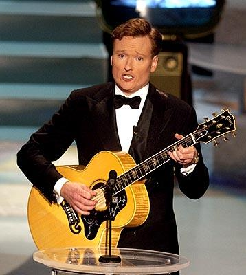Host Conan O'Brien Emmy Awards - 9/22/2002