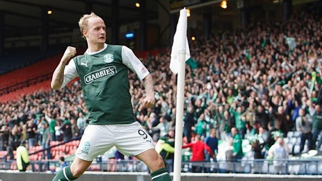 Leigh Griffiths believes leading Hibernian to a cup win can help convince his critics he is a serious competitor