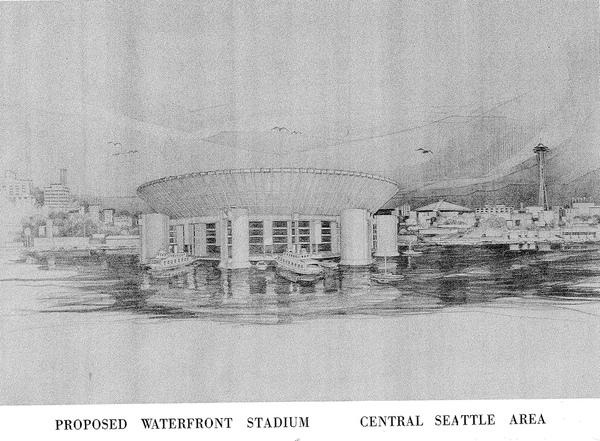 That Time Seattle Almost Built a Football Stadium on Water