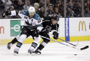 LA Kings beat Sharks 5-2 in division showdown