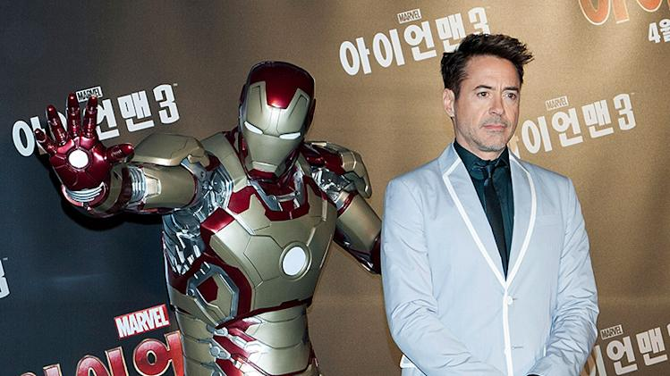 'Iron Man 3' Press Conference