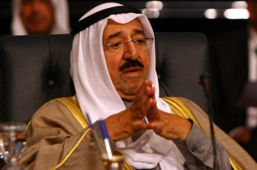 Kuwait&#39;s Emir Sheikh Sabah al-Ahmad Al-Sabah, seen here in 2011, issued a decree accepting the resignation of the oil-rich Gulf state&#39;s cabinet,