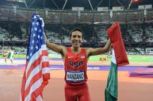 Leo Manzano Speeds to Silver for the USA in 2012 Olympic Games