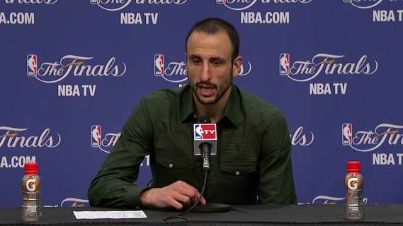 Press Pass: Manu Ginobili