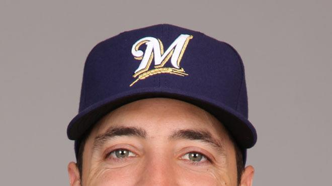Ryan Braun Baseball Headshot Photo