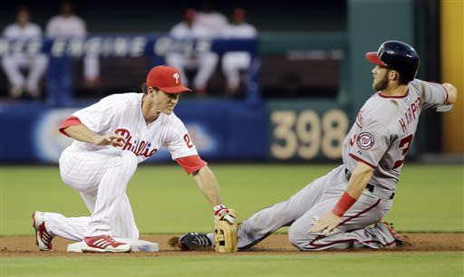 Lannan dominates former team, Phils beat Nationals