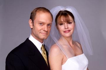 "David Hyde Pierce and Jane Leeves NBC's ""Frasier"" Frasier"