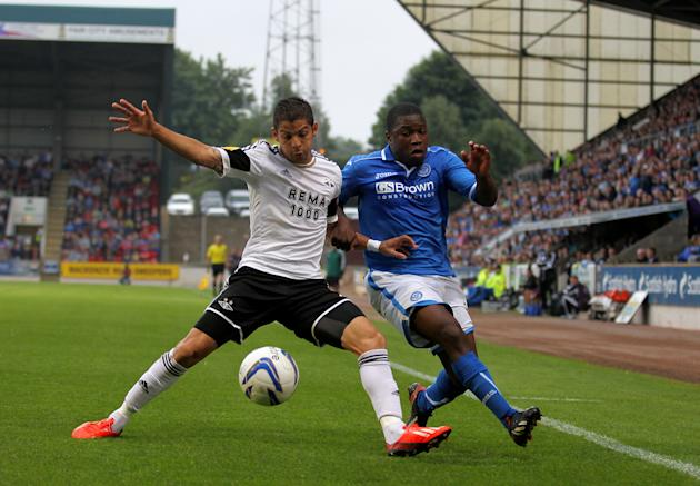 Soccer - UEFA Europa League - Second Round Qualifier - Second Leg - St Johnstone v Rosenborg - McDiarmid Park