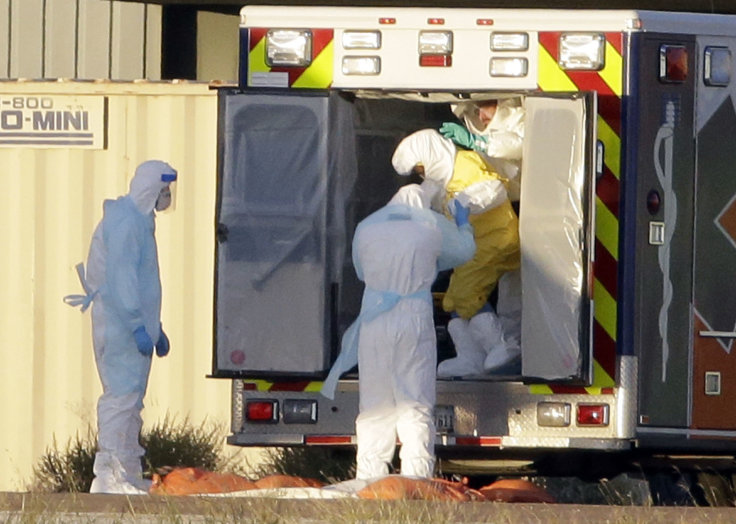 Baylor Scott & White said it is upgrading its protective equipment to be like what was worn to transport Ebola patient Nina Pham to Maryland. (AP/Tony Gutierrez)