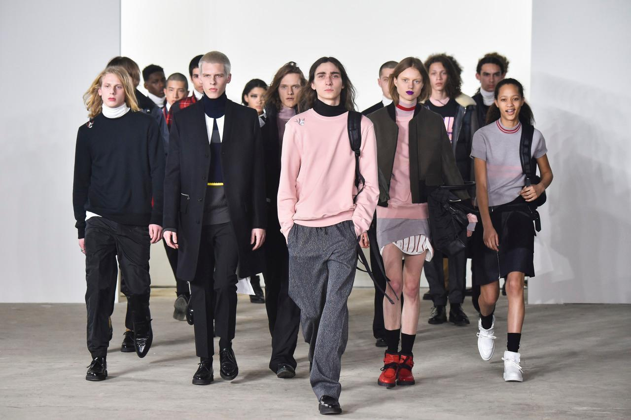 Men's Fashion Week Celebrates Individuality