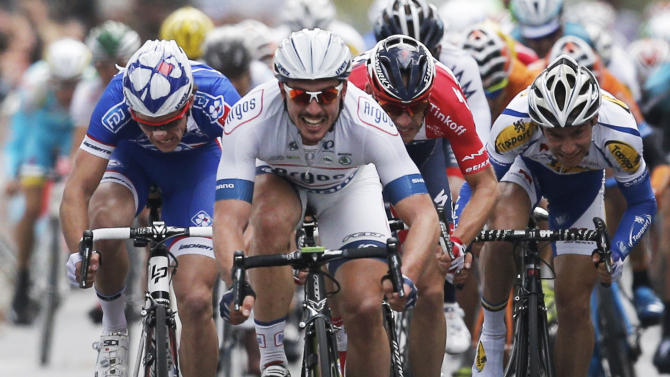 Germany's Degenkolb wins Paris-Tours classic