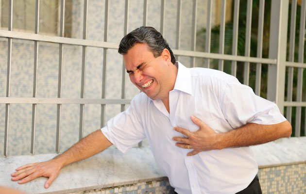 Think you're having a heart attack? Call for emergency help immediately! (Thinkstock photo)