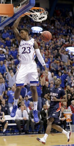 No. 9 Jayhawks breeze past Belmont, 89-60