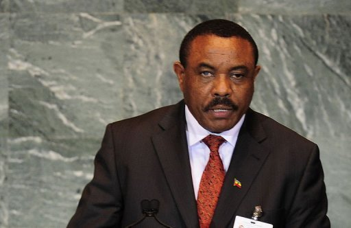 File photo of Hailemariam Desalegn, who has taken the oath of office as new Ethiopian prime minister, after the death of long-time ruler Meles Zenawi.