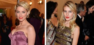 MET Ball 2012 Beauty: Dark Vampy Lips, Big Quiffs and Orange Colour-Pops!