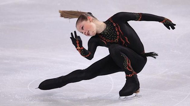 Julia Lipnitskaia of Russia performs her ladies short program at the Bompard Trophy ISU Grand Prix of figure skating competition in Paris, November 16, 2012
