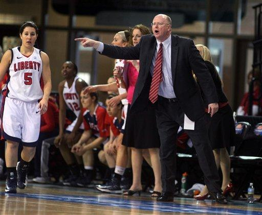 Liberty takes Big South women's title