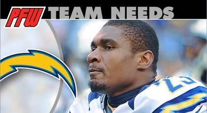 San Diego Chargers: 2013 team needs